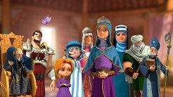 """İran Animasyon Filmi; """"Roma Prensesi"""" (2015) Gösterime Girdi"""